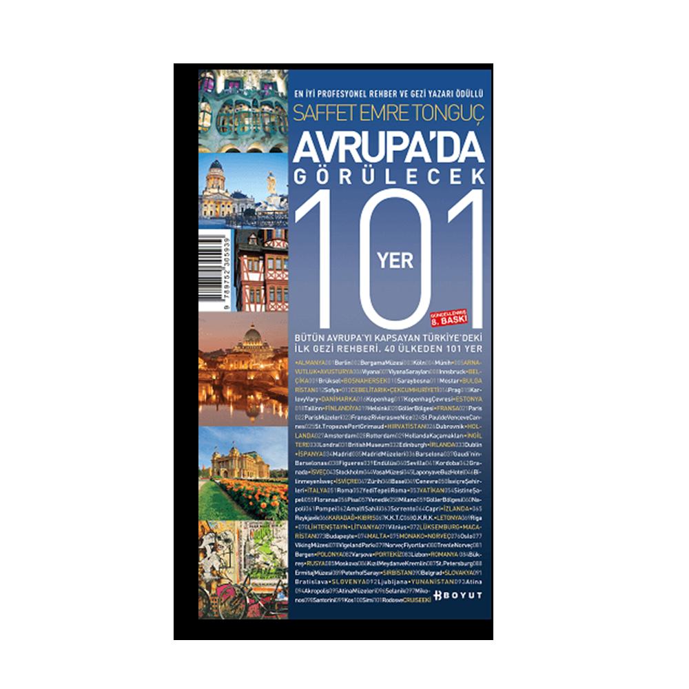Saffet Emre Tonguç - Avrupa'da Görülecek 101 Yer Kitaplar