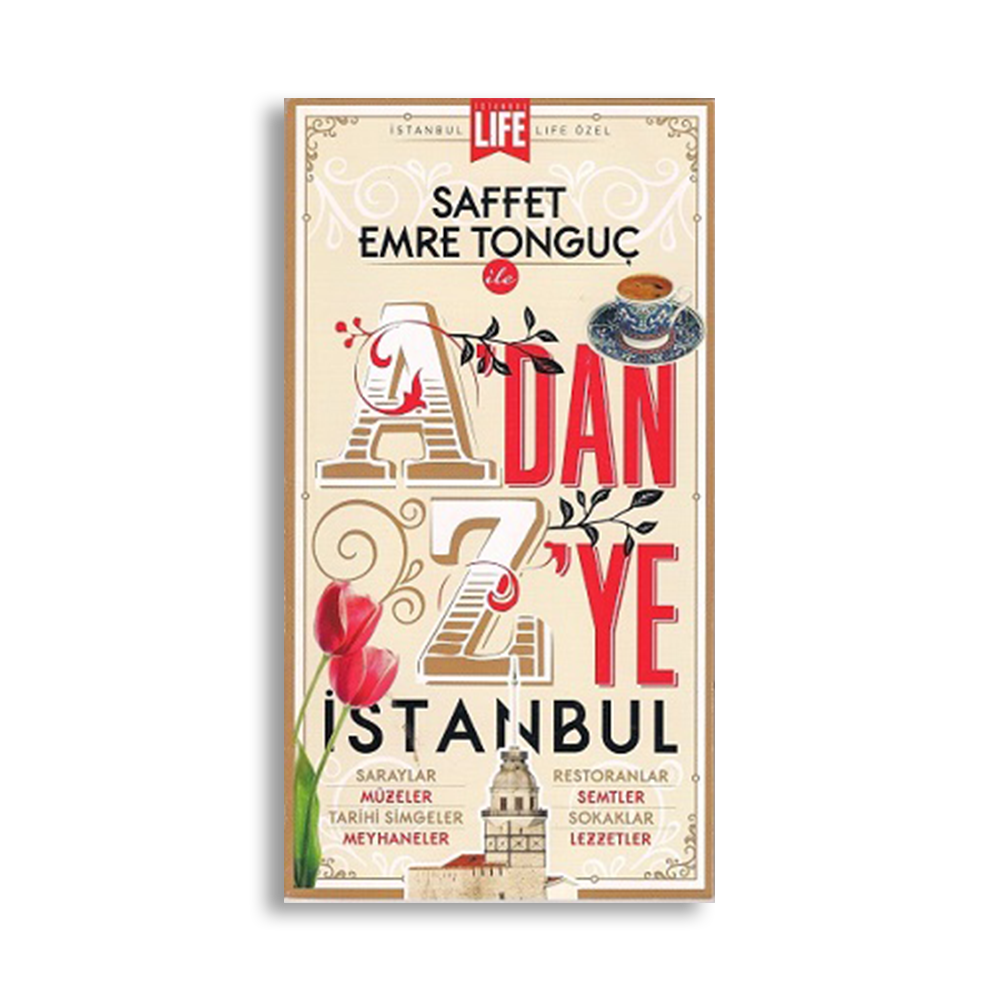 Saffet Emre Tonguç - A'dan Z'ye İstanbul Kitaplar