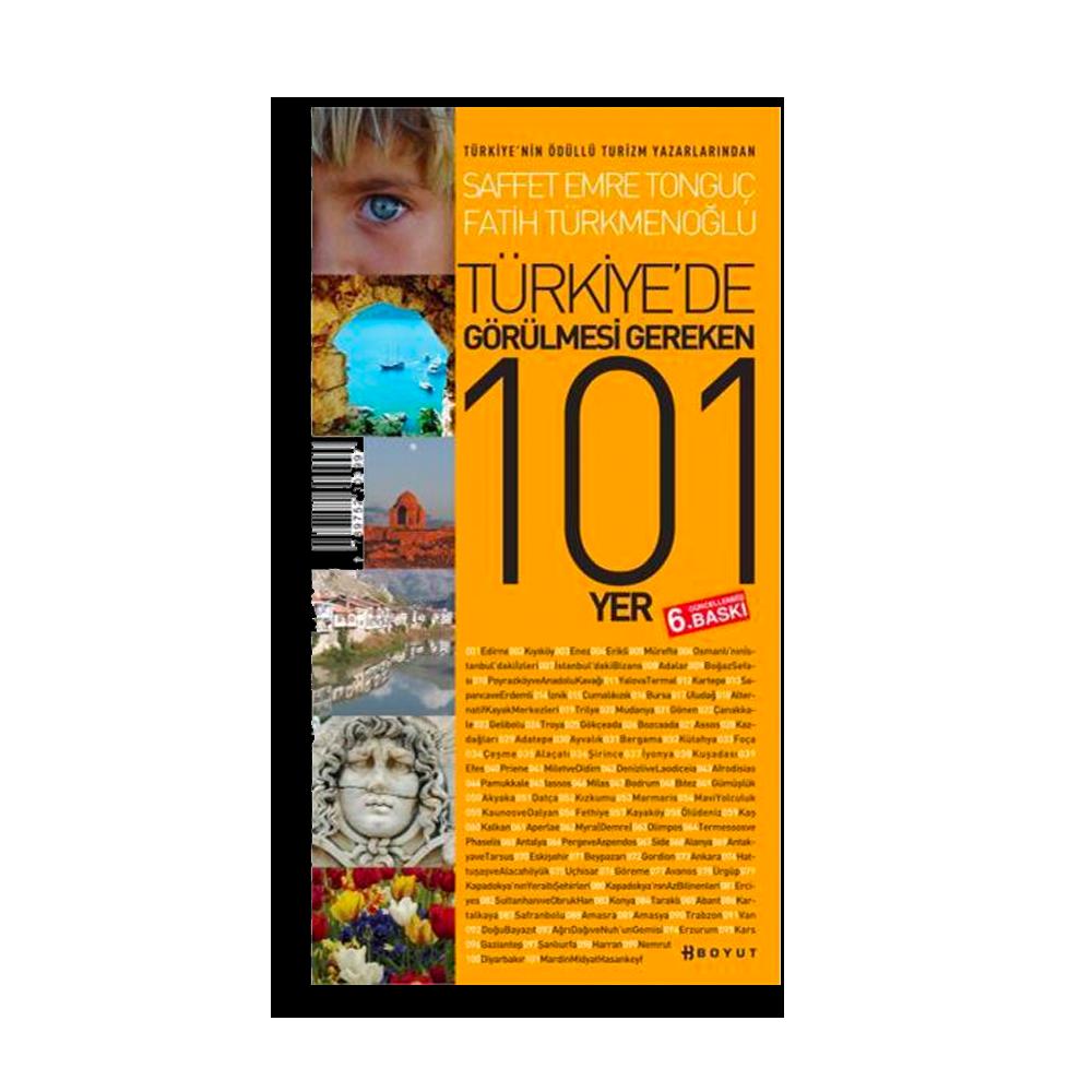 Saffet Emre Tonguç - Türkiye'de Görülecek 101 Yer Kitaplar